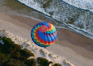 Hot Air Balloon over Byron Bay - Byron Bay Activities