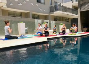 Byron Bay Poolside Yoga