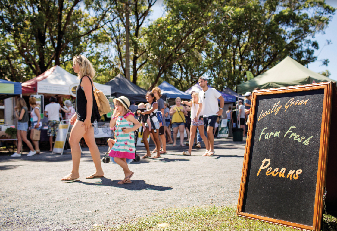 Byron Bay Markets - Image Credit: Destination NSW