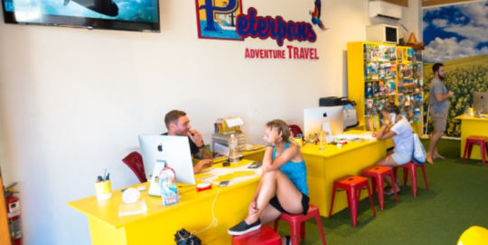 Peterpans Backpackers Byron Bay Travel Agent - Travel Byron Bay